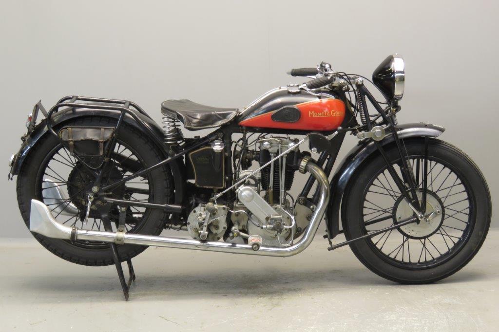 Monet Goyon 1929 Model G 350cc 1 cyl ohv  2708