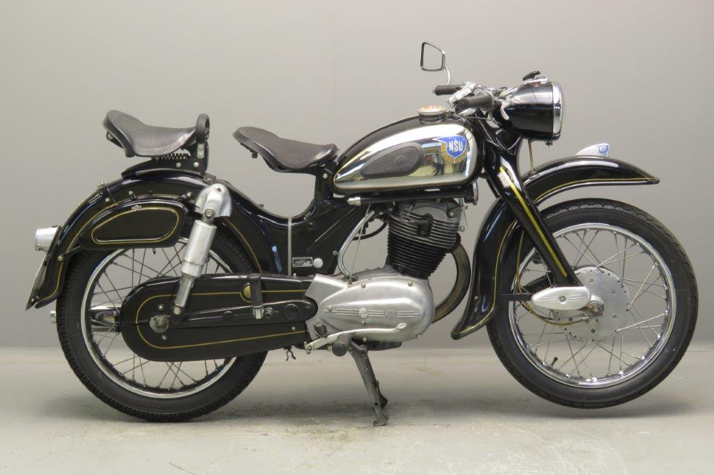 nsu 1959 super max 250cc 1 cyl ohv 2708 yesterdays. Black Bedroom Furniture Sets. Home Design Ideas