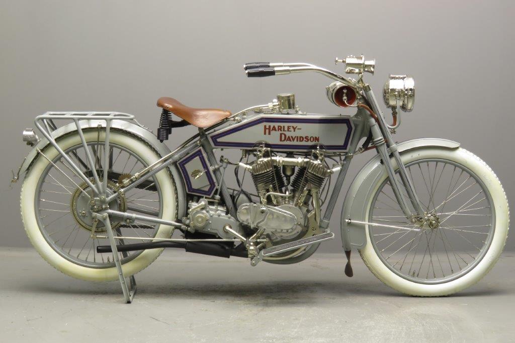 Harley Davidson 1915 11F 998cc 2 cyl ioe  2708