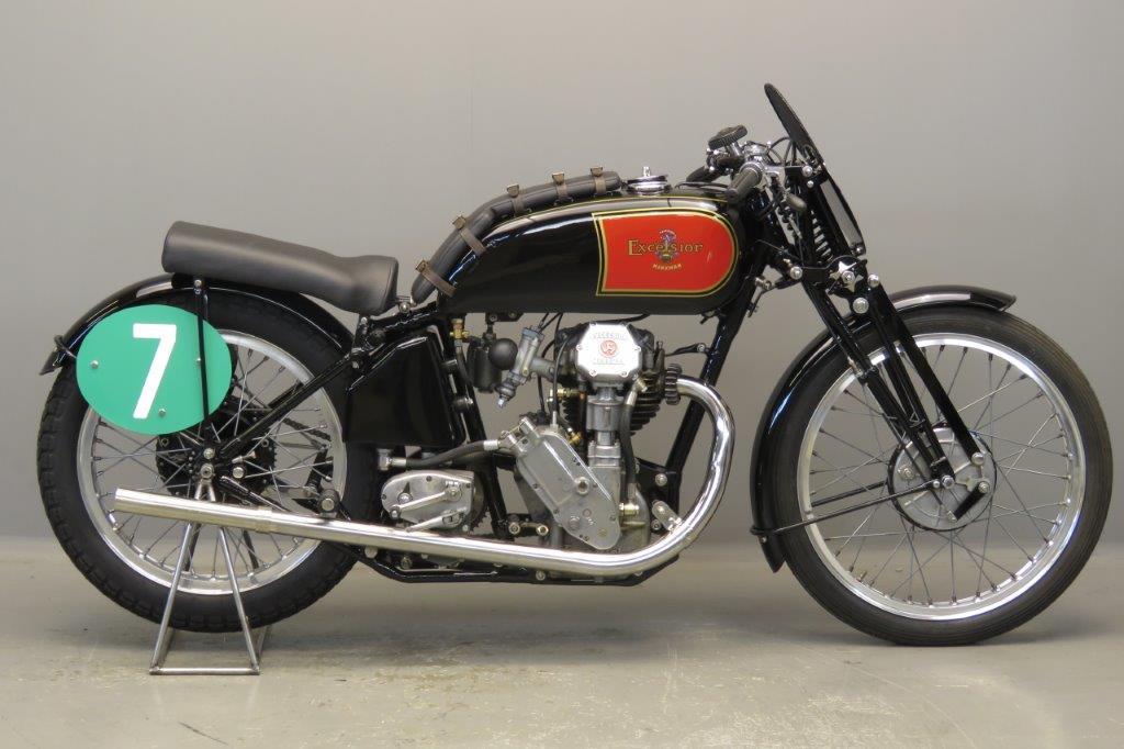 Excelsior 1938 Manxman 250cc 1 cyl ohc  2709