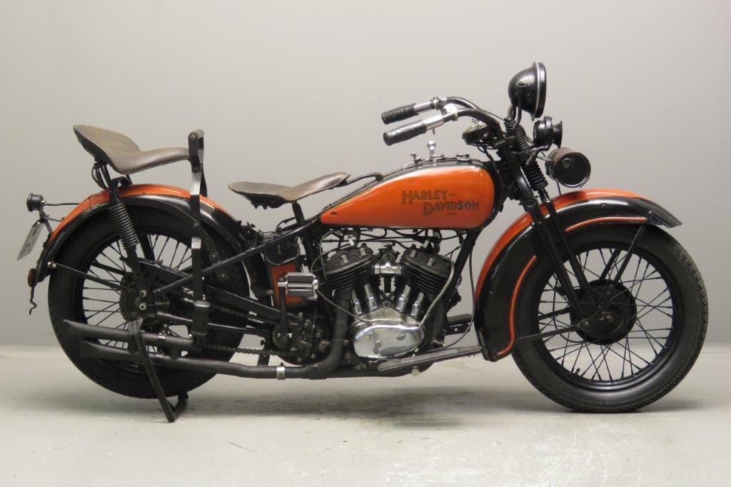 Harley Davidson 1929 Model D 750cc 2 cyl sv  2709