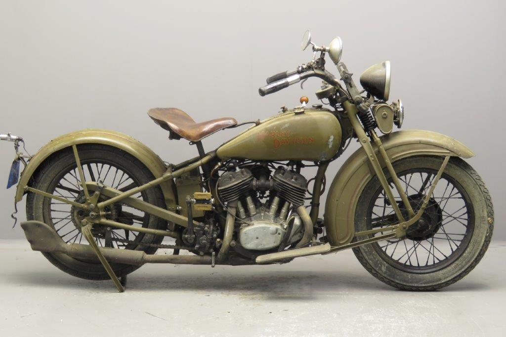 Harley Davidson 1933 Model 33RE  750cc 2 cyl sv  2709