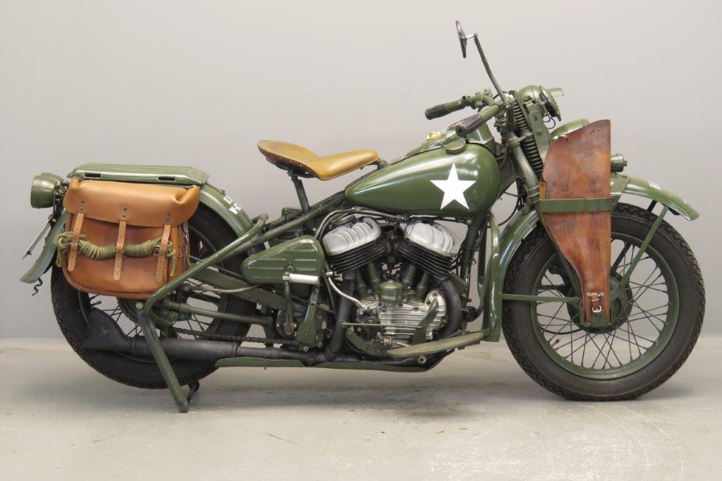 Harley Davidson 1942 WLA 750cc 2 cyl sv  2709