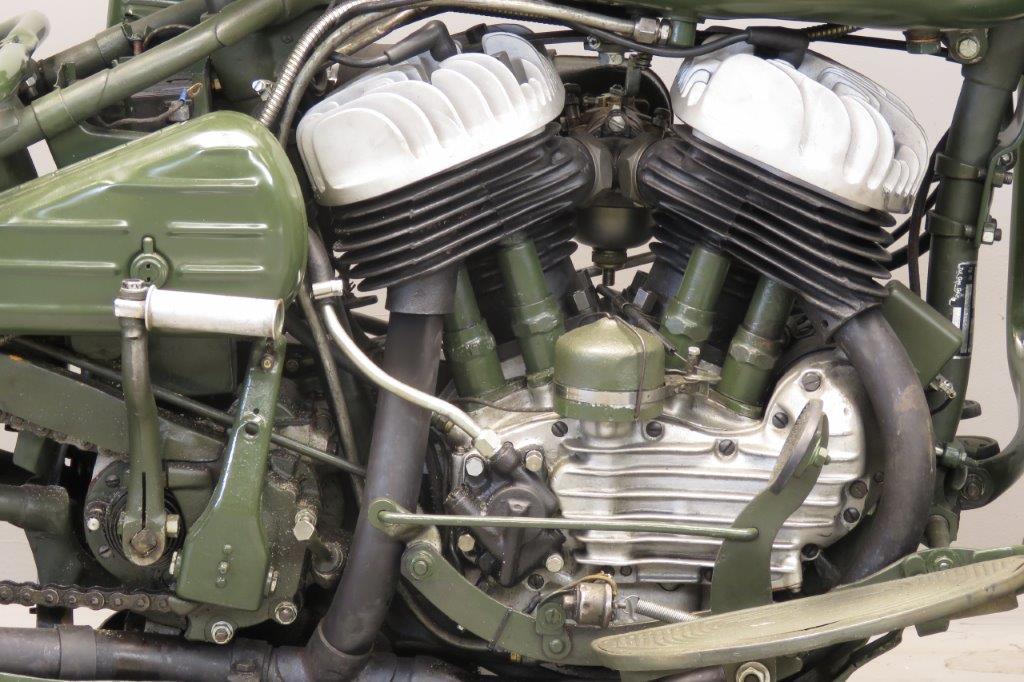 Harley Davidson 1942 WLA 750cc 2 cyl sv 2709 - Yesterdays