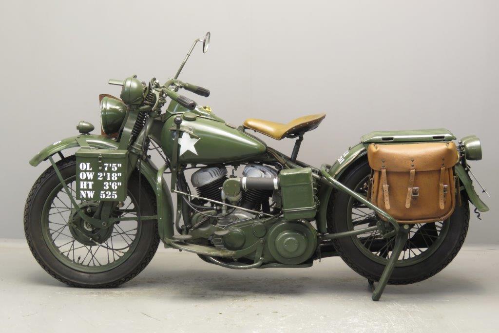 Harley Davidson 1942 Wla 750cc 2 Cyl Sv 2709 Yesterdays