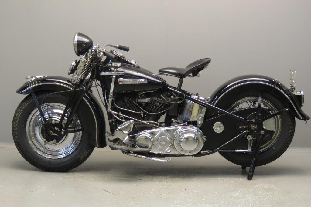 Harley Davidson 1947 47F 1200cc 2 cyl ohv 2709 - Yesterdays