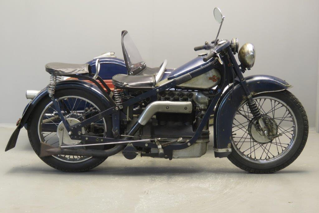 Nimbus 1937 sidecar combination  2709