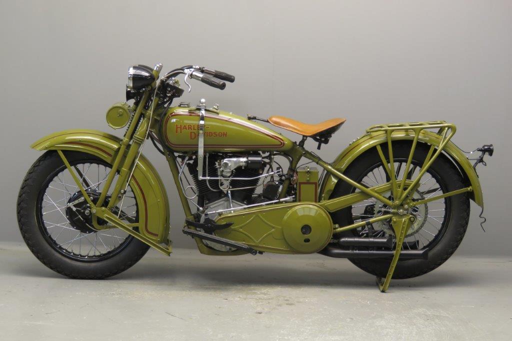 Harley Davidson 1929 Model J 989 Cc 2 Cyl Ioe 2710