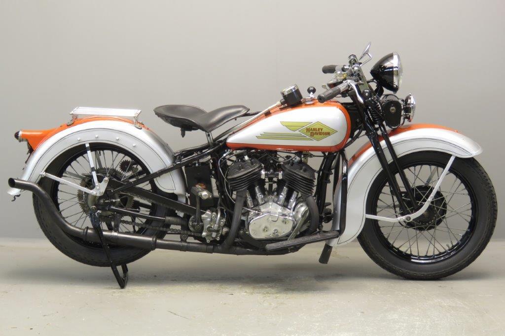 Harley Davidson 1934 Model RL 750cc 2 cyl sv  2710