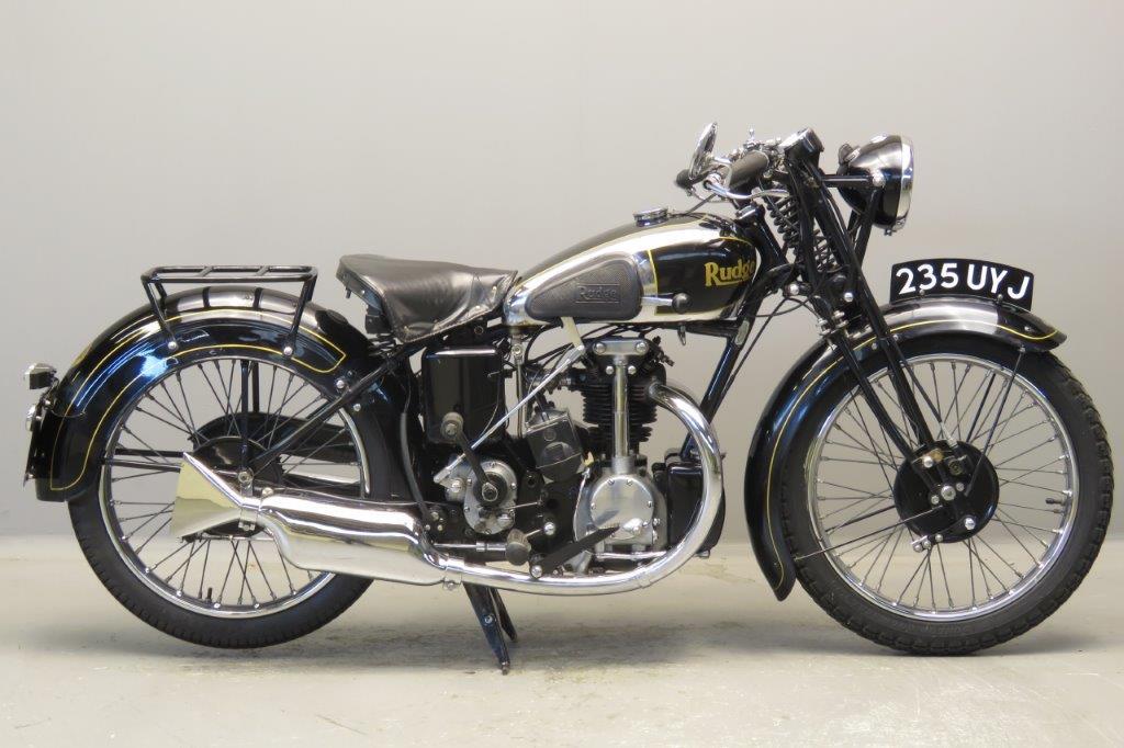 Rudge 1934 four valve radial  250cc 1 cyl ohv  2710