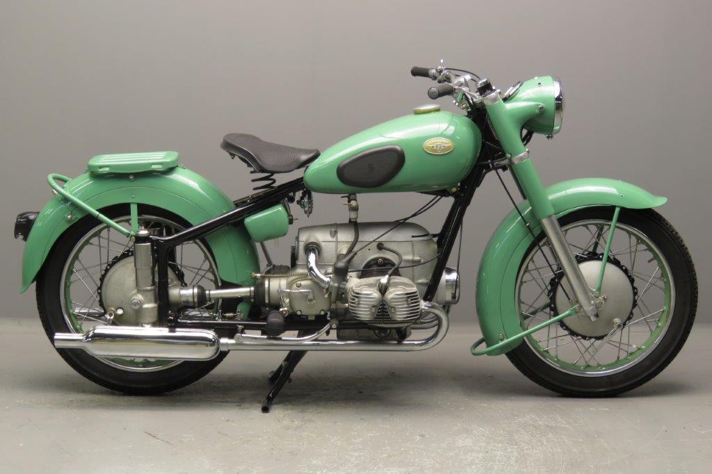 Betere Zündapp 1952 KS601 592cc 2 cyl ohv 2710 - Yesterdays JM-75