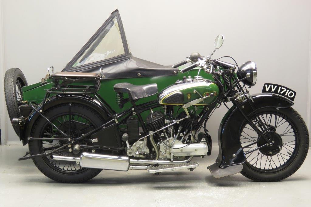 BSA 1933 G33-13 Combination 986cc 2 cyl sv  2711