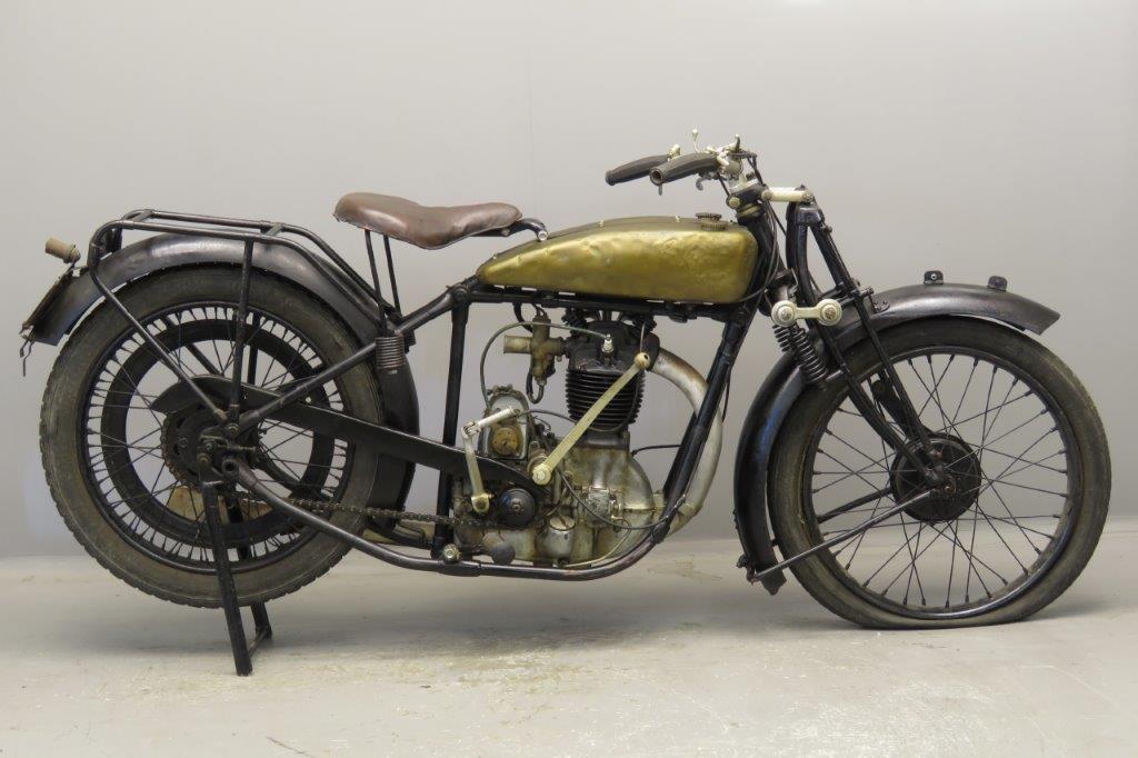 FN 1926 M67A  500cc 1 cyl ohv  2711