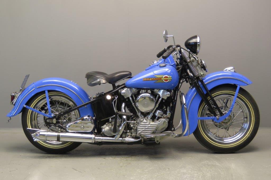 Harley Davidson 1946 EL46 1000cc 2 cyl ohv 2711 - Yesterdays