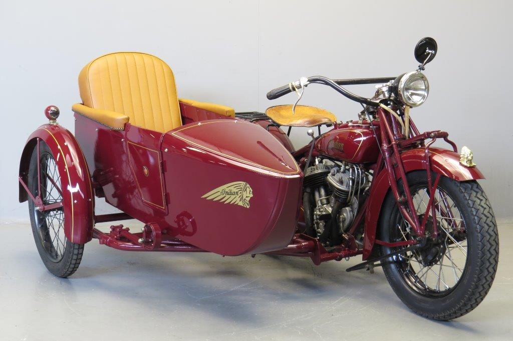 Indian 1929 101 scout 750cc 2 cyl sv  2711