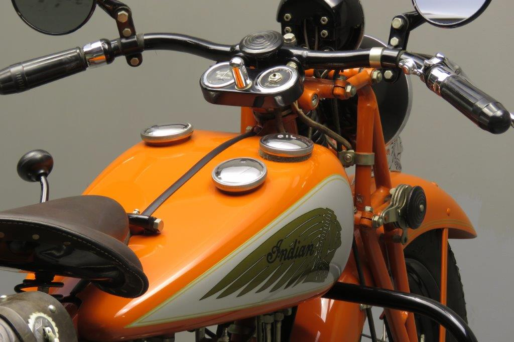 indian 1936 sport scout 750cc 2 cyl sv 2711 yesterdays