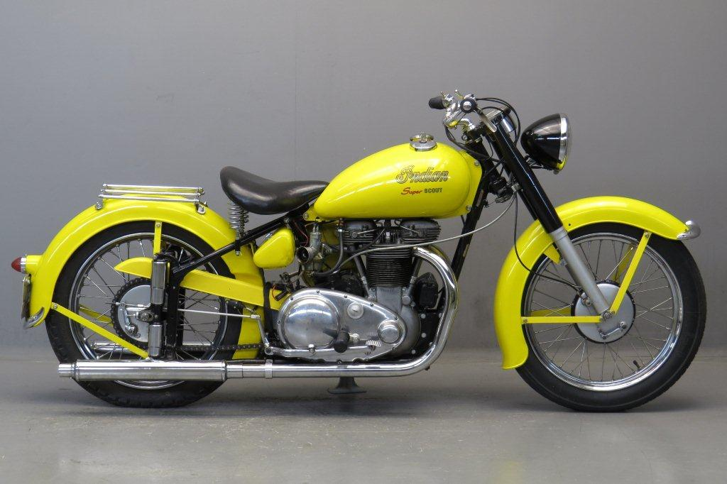 Indian 1949 Scout 440cc 2 cyl ohv 2711