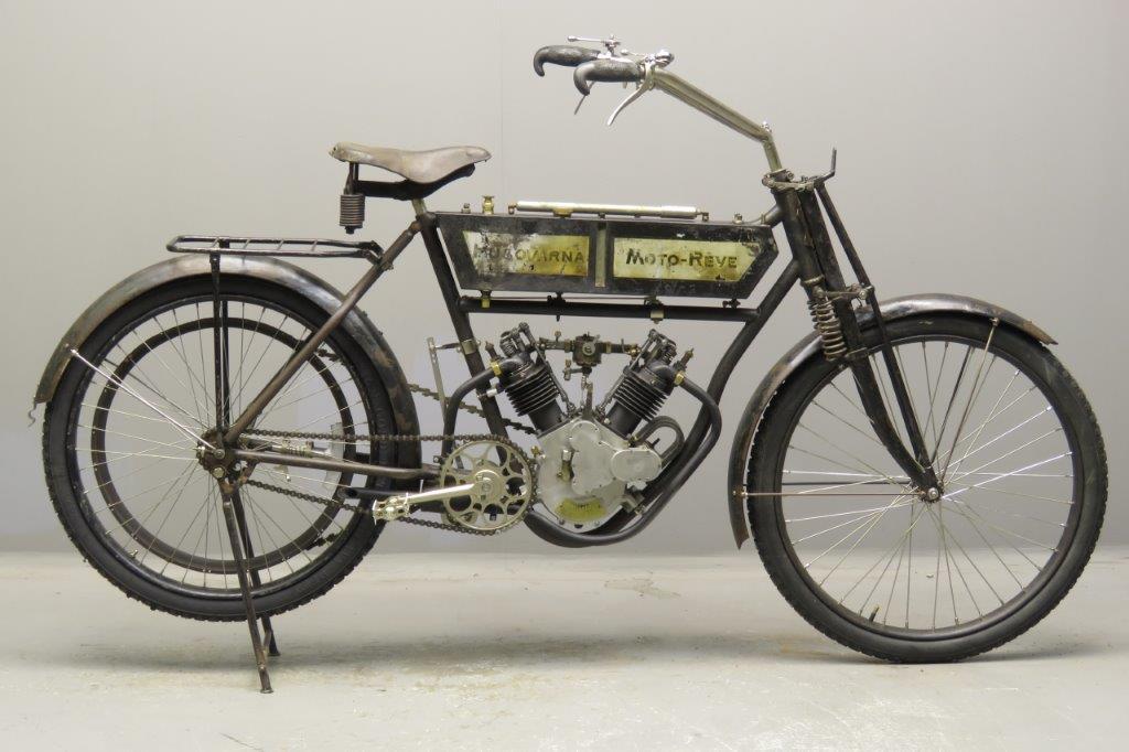 Moto-Rêve Model D 354cc 2 cyl ohv  1711