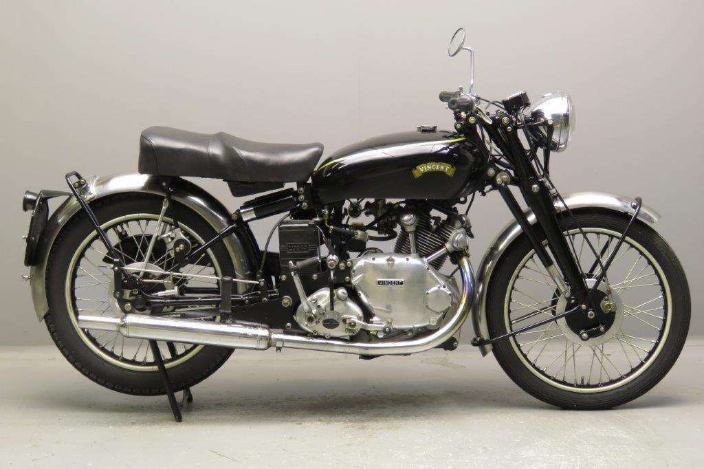 Vincent 1950 Comet 500cc 1 cyl ohv  2711