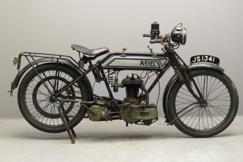 Ariel 1915 498cc 1 cyl sv  2712