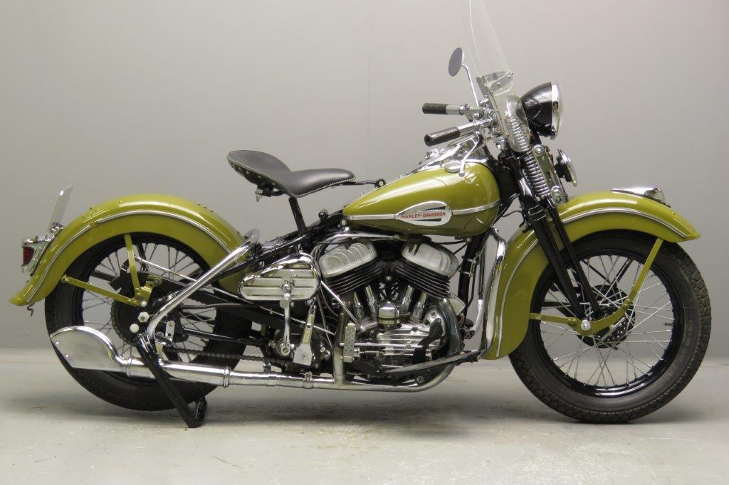 Harley Davidson 1942 WLC 750cc 2 cyl sv  2712a