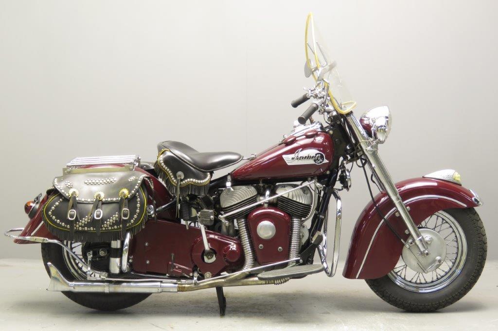 Indian 1952 Roadmaster Chief 1340cc 2 cyl sv  2712
