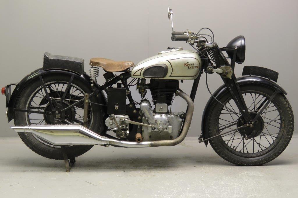 Royal Enfield 1937 Model J 500cc 1 cyl ohv  2712
