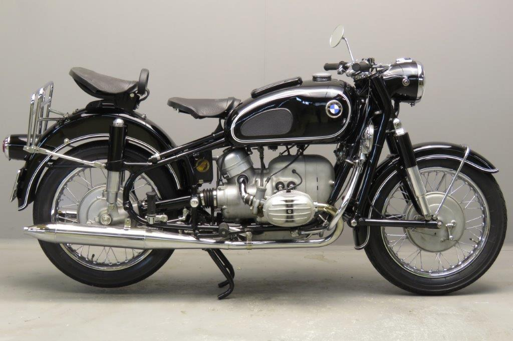 BMW 1968 R60/2 600cc 2 cyl ohv  2801