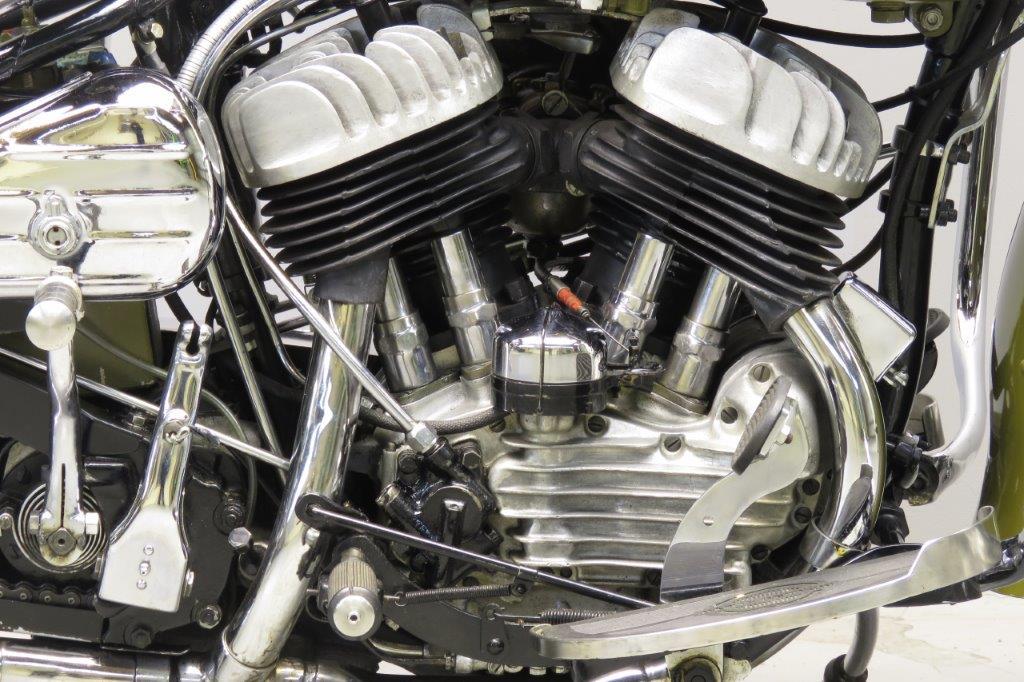 Harley Davidson: Harley Davidson 1943 WLC 750cc 2 Cyl Sv 2801