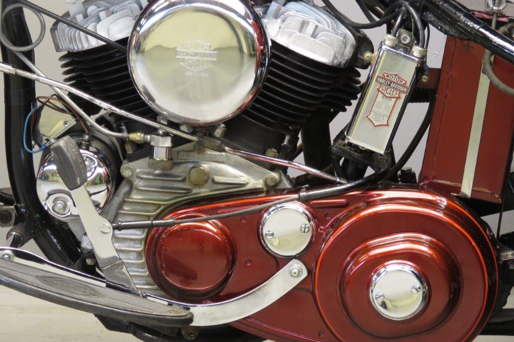 Harley Davidson: Harley Davidson 1949 Servicar 750cc 2 Cyl Sv 2801