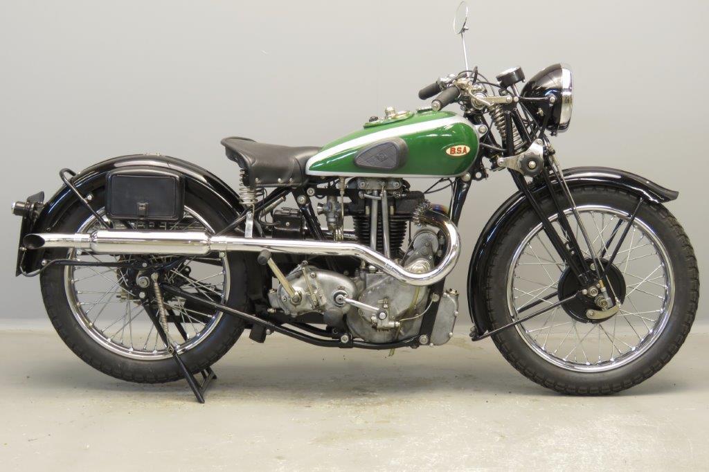 BSA 1935 W35/8 500cc 1 cyl ohv  2803