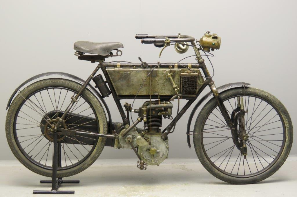 Bruneau 1905 2¾hp 326cc 1 cyl aiv  2803
