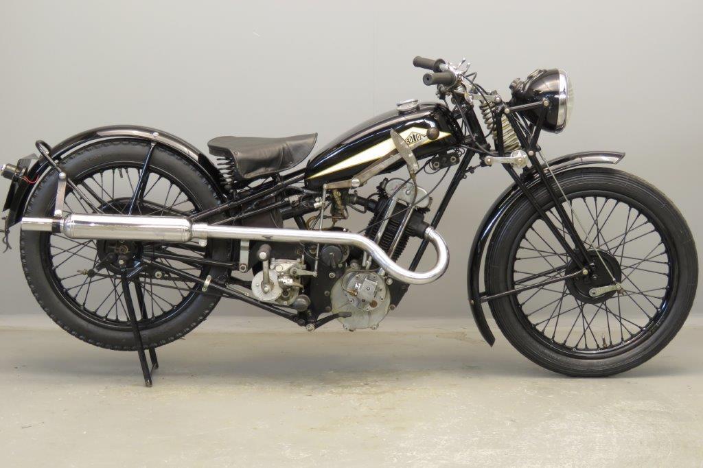 Cotton 1934 Model 6J 250cc 1 cyl ohv  2803