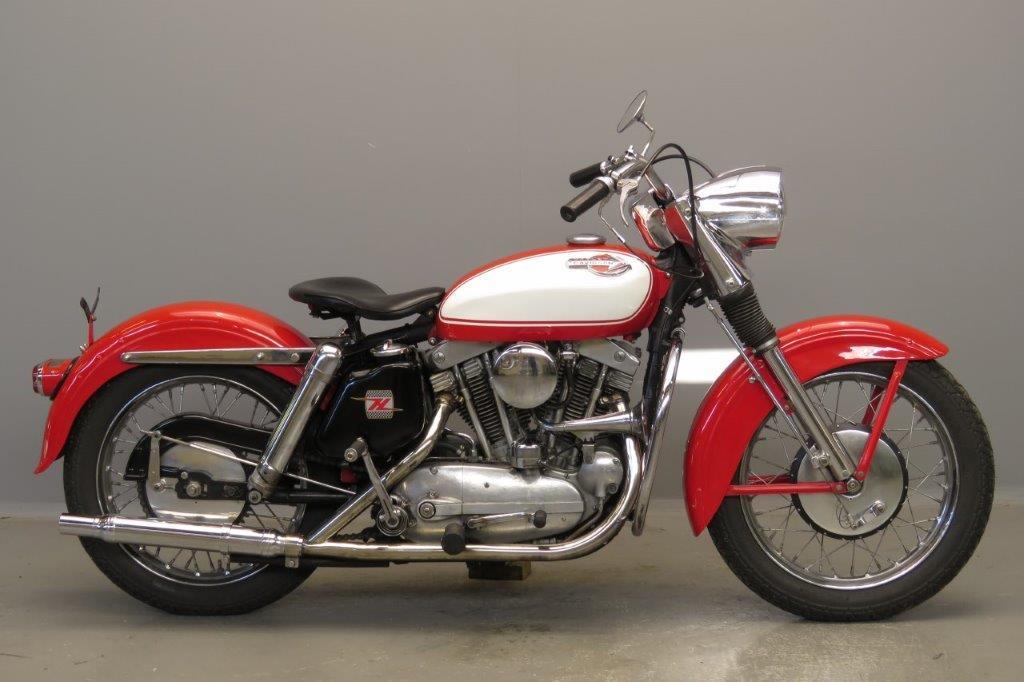 Harley Davidson 1962 XLH  883cc 2 cyl ohv  2803