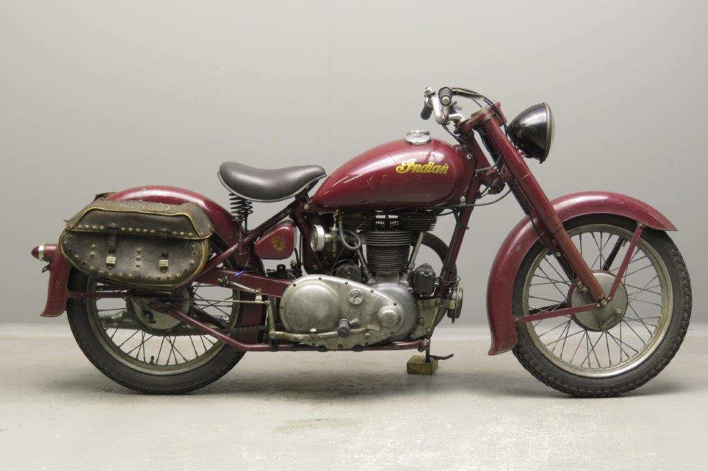 Indian 1949 Arrow 220cc 1 cyl ohv  2803
