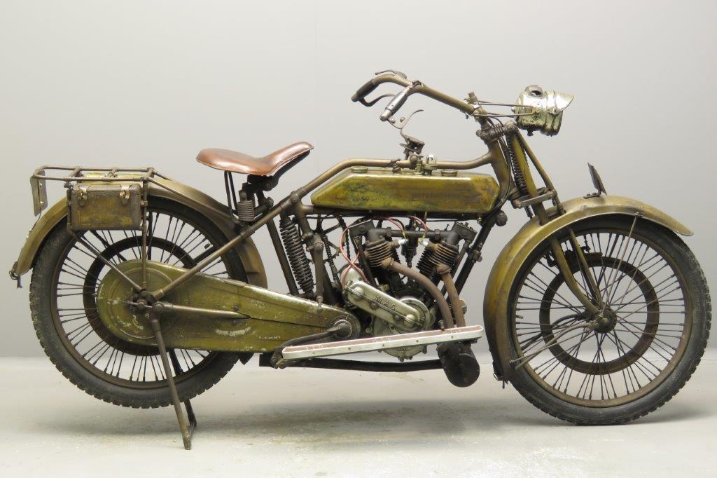 Motosacoche 1920 2C12 5-6hp 592cc ioe V-twin  2803