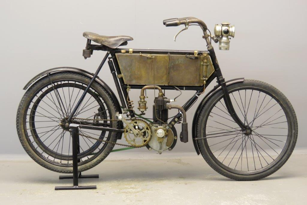 Terrot 1903 2½hp 250cc 1 cyl aiv  2803