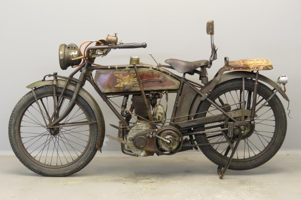 Excelsior 1914 Model 4TS 500cc 1 cyl ioe 2804 - Yesterdays
