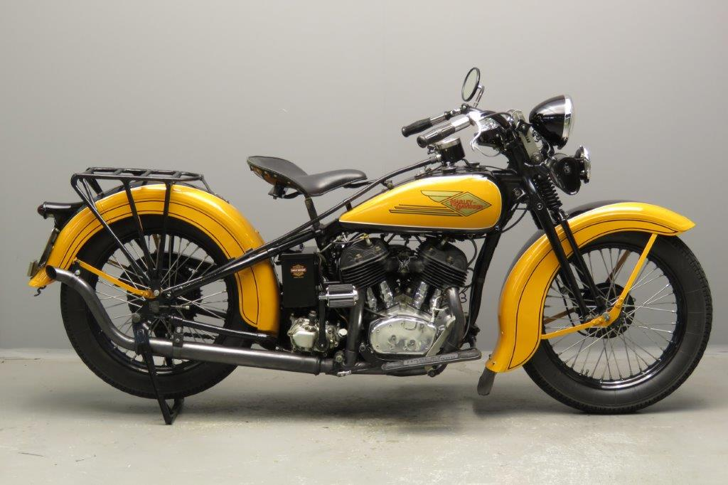 Harley-Davidson 1934 34VLD 1200cc 2 cyl sv  2804