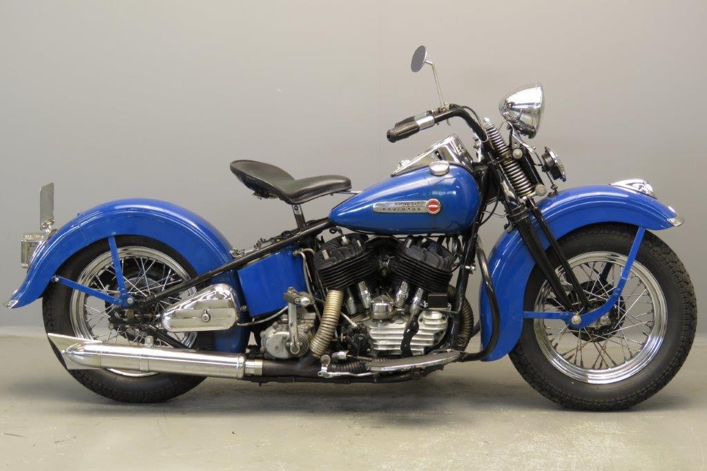 Harley Davidson 1947 47U 1200cc 2 cyl sv  2804