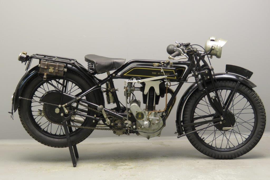 Sunbeam 1928 Model 8 350cc 1 cyl ohv  2804