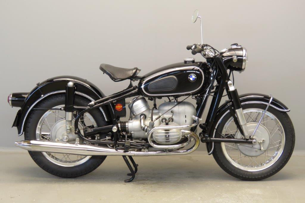 BMW 1957 R50 500cc 2 cyl ohv  2805