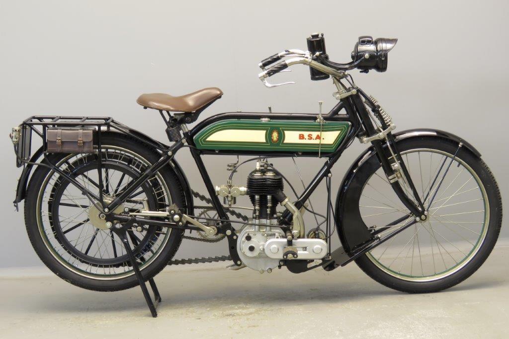 BSA 1913 model C 499cc 1 cyl sv  2805