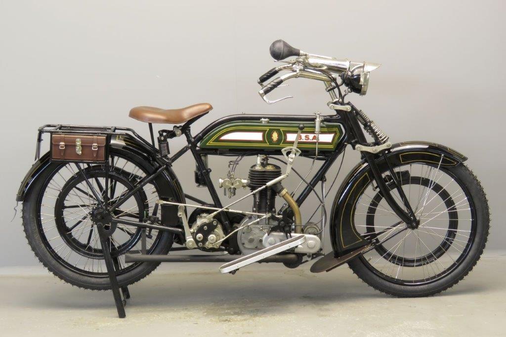 BSA 1915 K 557cc 1 cyl sv  2805