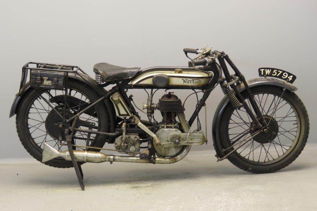 Norton 1926 16H 500cc 1 cyl sv  2805