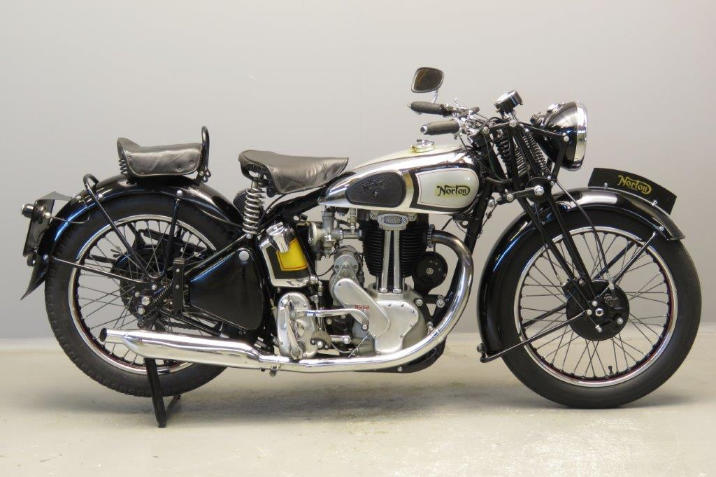 Norton 1946 Model 18 500cc 1 cyl ohv  2805