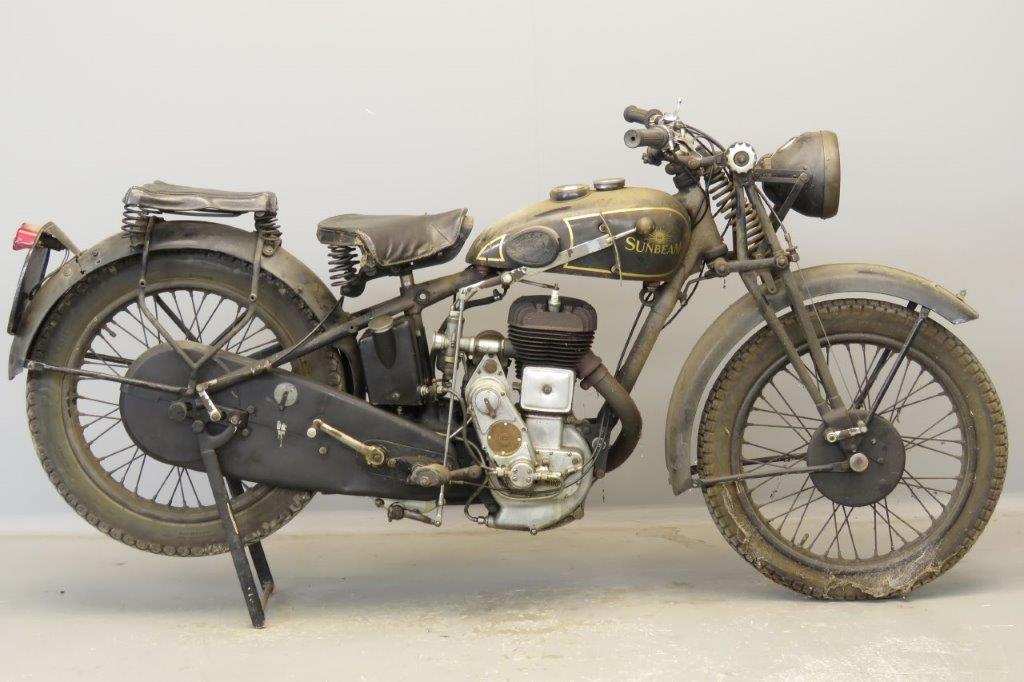 Sunbeam 1933 Lion 600cc 1 cyl sv  2805
