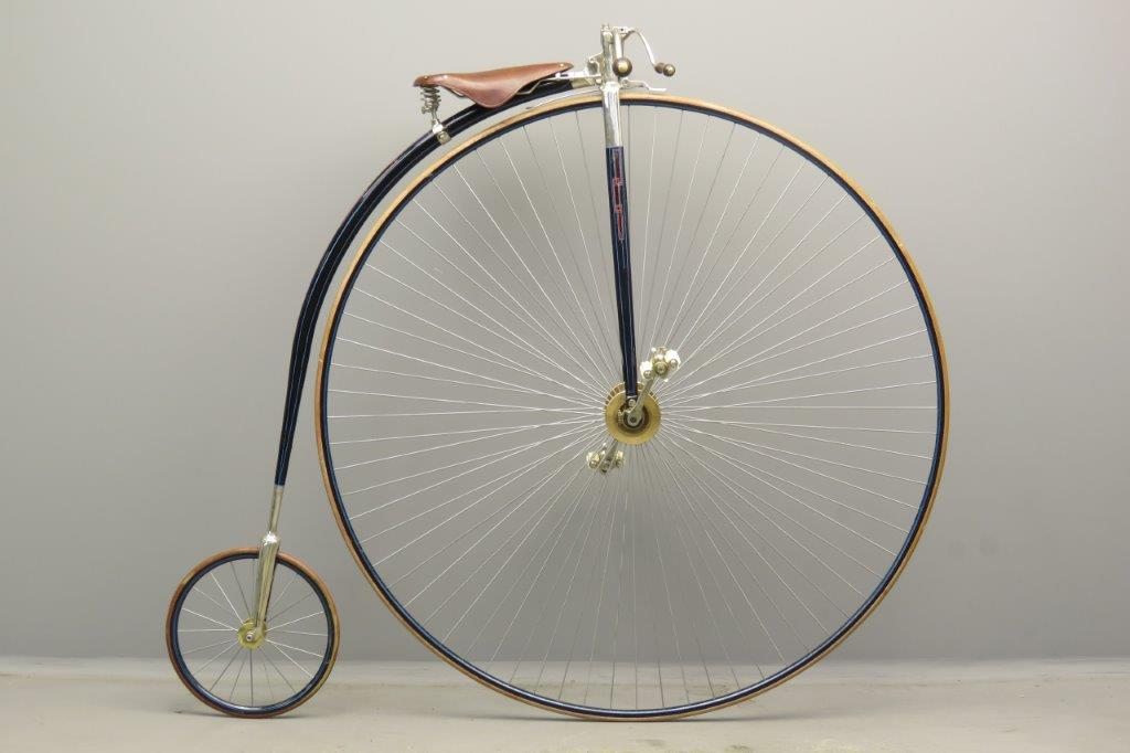 Penny Farting Rudge  56 Inch ca 1880  2806