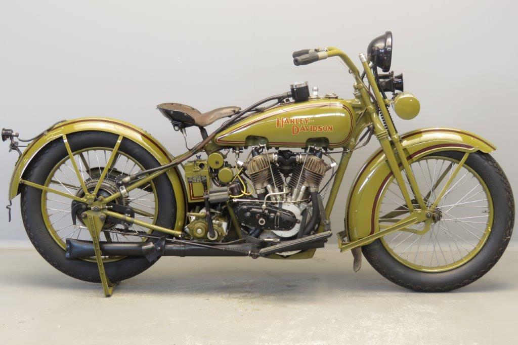 Harley Davidson 1925 JE 1000 cc 2 cyl ioe  2806