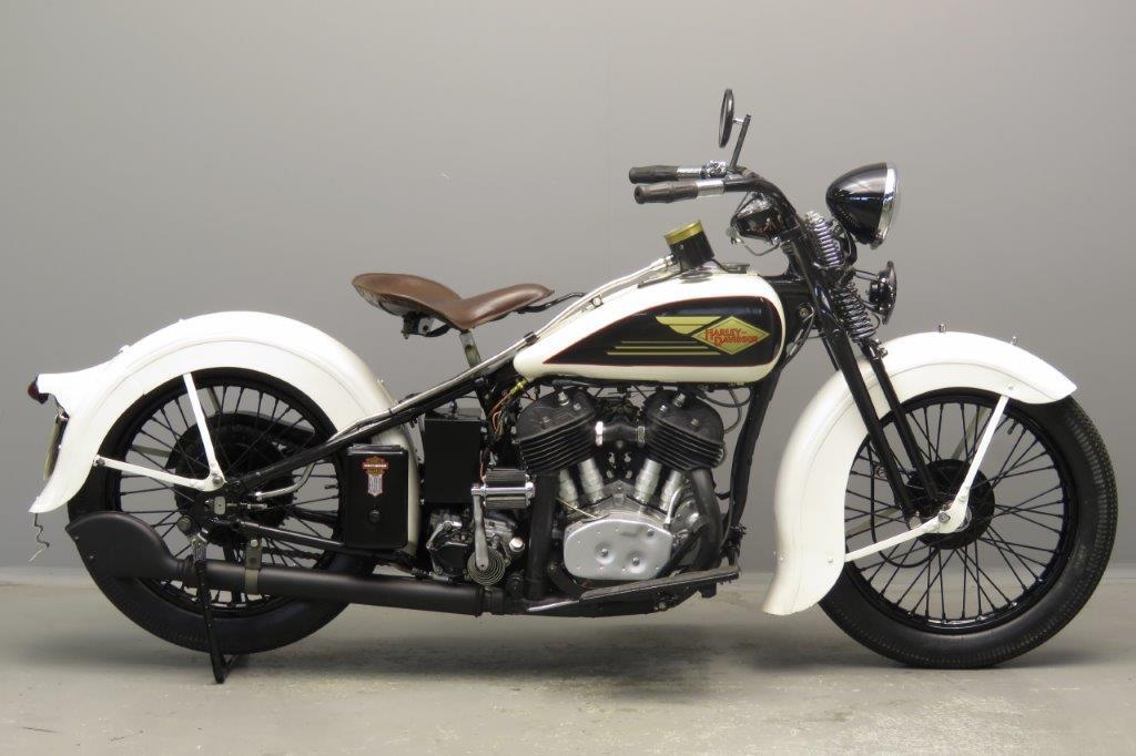 Harley-Davidson 1935 35VD 1200cc 2 cyl sv  2806